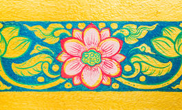 Thai pattern Royalty Free Stock Photography