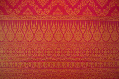 Thai pattern background Stock Photography
