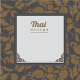 Thai Pattern, Background Royalty Free Stock Photography