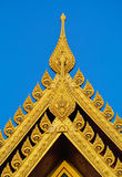 Thai Pattern Buddhist Murals Stock Photo