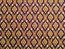 Thai pattern cloth Stock Photo