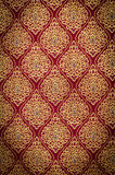 Thai pattern on fabric Stock Photography