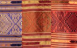 Thai pattern fabric Royalty Free Stock Image