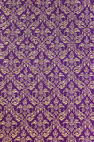Thai pattern fabric Royalty Free Stock Images
