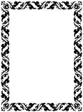 Thai pattern frame Stock Photo