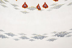 Thai pattern painting Stock Photography