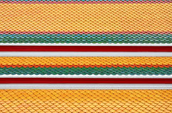Thai Pattern Roof Royalty Free Stock Photography
