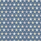 Thai pattern. Sarong is a large length of fabric, often wrapped around the waist and wear by women in Thailand Royalty Free Stock Images