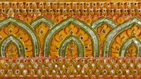 Thai pattern sculpture Royalty Free Stock Image