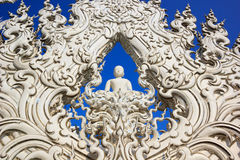 Thai pattern sculpture Stock Photos