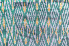 Thai pattern silk background Royalty Free Stock Images
