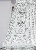 Thai pattern stucco Stock Image