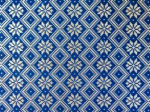 Thai pattern style on the wrapper Stock Images