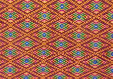 Thai pattern style on the wrapper Stock Image