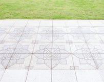 Thai pattern tile Royalty Free Stock Photo