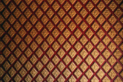 Thai pattern wall Royalty Free Stock Photography
