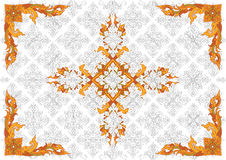 Thai Pattern35 Stock Photo