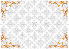Thai Pattern37. Thai pattern can be apply for tattoo ,pattern or background Stock Image