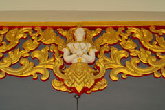 Thai Patterns. This is Thai Patterns at pavilion of Buddhist temples stock photos
