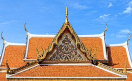Thai Pavilion Architecture, Closeup Royalty Free Stock Photography
