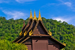 Thai pavilion Stock Photos