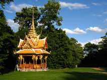 Thai Pavilion in Lausanne, Switzerland Royalty Free Stock Image