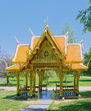 Thai pavilion in Lisbon Stock Image