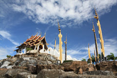 Thai Pavilion on the Mountain Royalty Free Stock Images