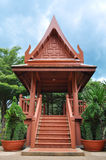 Thai pavilion. Thai style small pavilion for relaxing Royalty Free Stock Photos