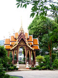 Thai pavilion. Thai traditional style pavilion in the middle of thailand Royalty Free Stock Photo
