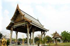 Thai pavilion, Wat Sothornwararamworaviharn, Chachoengsao Thailand Royalty Free Stock Image