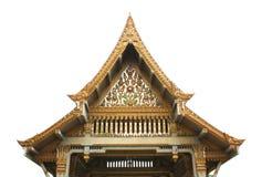 Thai pavilion, Wat Sothornwararamworaviharn, Chachoengsao Thailand Royalty Free Stock Photo
