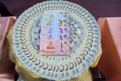 thai pengar Royaltyfri Foto