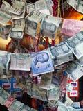 thai pengar Arkivfoto
