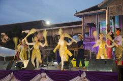 Thai people dancer dancing thai style for show people in traditi Royalty Free Stock Images