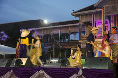Thai people dancer dancing thai style for show people in traditi Royalty Free Stock Photography