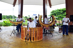 Thai people play traditional thai musical instruments concert Stock Photography
