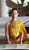 Thai performer stock images