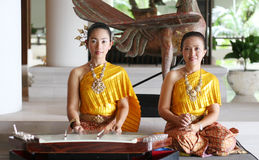 Thai performers Stock Image
