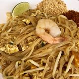 thai phad Arkivfoto