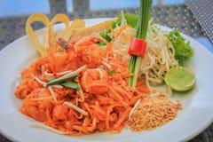 thai phad Royaltyfri Fotografi