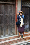 Thai Photography in Patan Durbar Square Nepal Stock Image