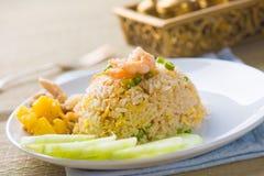 Thai pinapple fried rice food Royalty Free Stock Photos