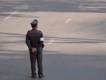 Thai Police Officer Stock Image