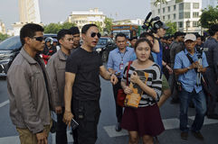 Thai political crisis. Stock Image