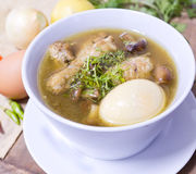 Thai popular food, Kai Pa Lo ,chicken stew with egg Royalty Free Stock Images