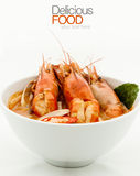 Thai popular soup.Thai Food Royalty Free Stock Photography