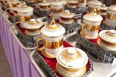 Thai porcelain Royalty Free Stock Image