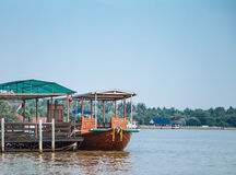 Thai port Royalty Free Stock Photo