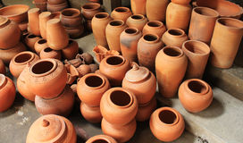 Thai Pottery Royalty Free Stock Photos